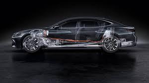 lexus hybrid sedan 2018 lexus ls 500h revealed at geneva motor show