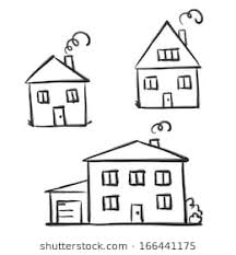 drawing a house 1 clipart etc line drawing house images stock photos vectors shutterstock