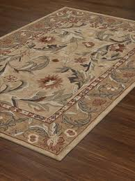 Brown And Beige Area Rug Decorating Give A Wonderful Touching On Your Floor With Wonderful