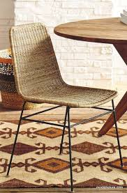 Wicker Rattan Dining Chairs Roost Ingrid Rattan Dining Chair Set Of 2 U2013 Modish Store