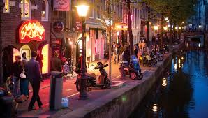Red Lighting Red Light District I Amsterdam