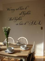 all together wall decals trading phrases all together wall decal
