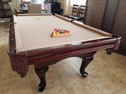 slate top pool table 8 foot pool table vcf ideas