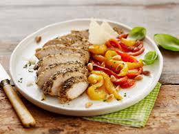 comment cuisiner blanc de poulet poivrons marinés au basilic et poulet grillé maggi