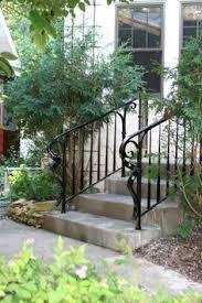 Porch Steps Handrail O U0027brien Ornamental Iron Gallery Of Exterior Step Rails Home