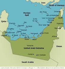map of the uae united arab emirates map uae map