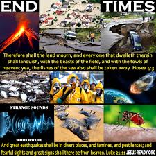 signs of the end times signs of the end days prophetic signs