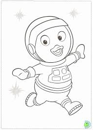 backyardigans coloring print coloring