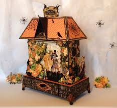 vintage halloween graphic annes papercreations graphic 45 an eerie tale mini album and
