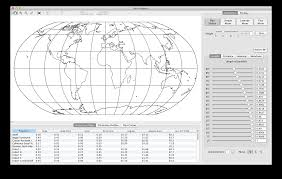 Map Projection Cartography And Geovisualization Group Oregon State University