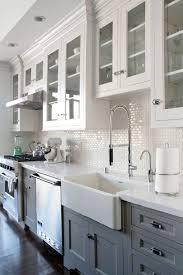 white kitchen backsplash tile ideas shabby chic kitchen cabinets on a budget white kitchen backsplash