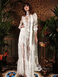outdoor wedding dresses yolancris white lace wedding dress bohemian style driada