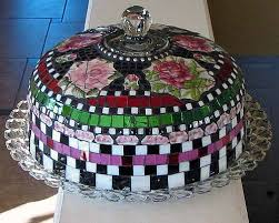 124 best mosaic cakes and cupcakes images on pinterest mosaic