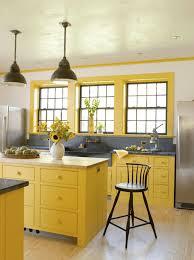 blue and yellow kitchen ideas bright yellow kitchen cabinets kitchen design pinterest