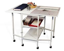 Folding Sewing Cutting Table Mobile Folding Sewing Machine Craft Table Desk Folding Craft
