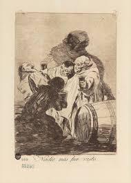 Lit Mezzanine Prado Goya Capricho Nº 79 Nadie Nos Ha Visto De Goya Serie Los