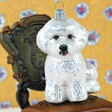 bichon frise christmas ornament by ornaments to remember