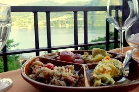 comi cuisine dining in the at la fagurida that adventurer