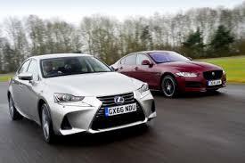 lexus vs lexus is vs jaguar xe auto express