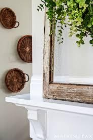 How To Build Fireplace Mantel Shelf - how to build a simple mantel maison de pax