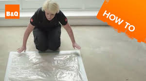 B And Q Flooring Laminate How To Lay Flooring Part 1 Preparation Youtube