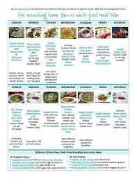 bi weekly whole food meal plan for january 1 14 u2014 the better mom