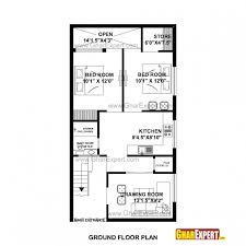 delightful awesome house plan for 20 feet 45 feet plot pictures 3d