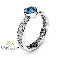 london blue topaz engagement ring london blue topaz engagement ring 14k white gold