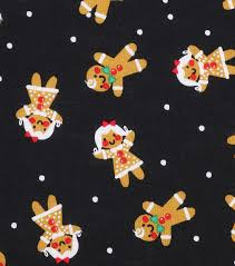 Bed Sheets For Summer Men U0027s Journal Holiday Showcase Christmas Cotton Fabric 43 U0027 U0027 Gingerbread On