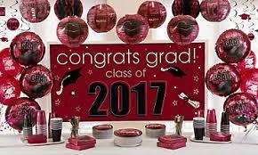 color graduation tableware party city