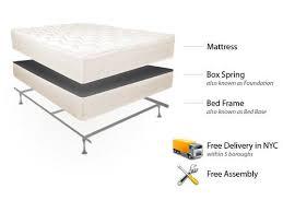 Bed Frame Set Easy Rest Mattress Set Bed Frame Free Delivery Set Up In Nyc