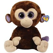 ty coconut monkey large beanie boo u0027s paper store