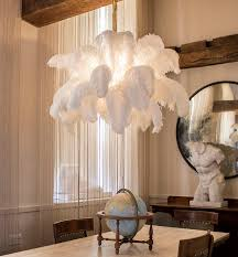 feather chandelier 16 best ostrich feather l images on ostrich