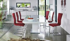 Contemporary Dining Table  Glass QUANTO By Bacher Die Collection - Beautiful kitchen tables