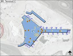 Map Of Jfk Airport New York by Jfk Airport Maplets