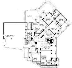 southwestern house plans floor plan of santa fe southwest house plan 99276 house