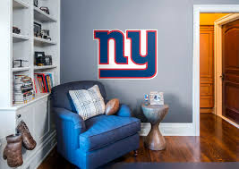 new york giants logo wall decal shop fathead for new york new york giants logo fathead wall decal