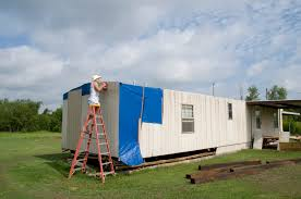 Mobile House Tornado Damaged Mobile Home Being Repaired In Oklahoma Fema Gov