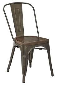 Metal Dining Room Chair Carlisle High Back Metal Dining Chair Set Of 2 Target In