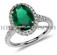 warren wedding rings oval emerald and micropave diamond ring arabic warren