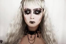 phantasee sabretooth white black sclera lenses halloween colored