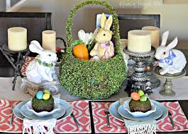 easter tabletop my mossy easter centerpiece table 2015