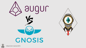 gnosis vs augur comparison rep tokens gno tokens
