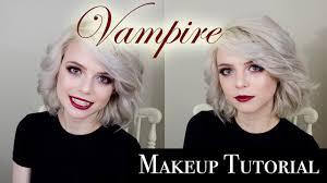 halloween vampire makeup tutorial youtube