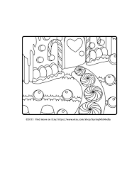 christmas coloring xmas gingerbread house christmas