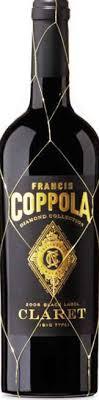 francis coppola diamond collection 2015 francis coppola diamond collection black label claret