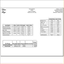 Pay Stub Template Excel 9 Create A Pay Stub Freeagenda Template Sle Agenda Template