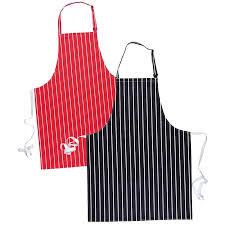 tablier de cuisine tablier cuisine à bavette de restaurant marine à rayures blanches