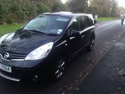 nissan note 2011 2011 nissan note 1 5 dci satnav in portadown county armagh