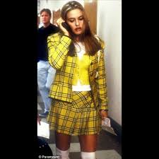clueless costume clueless yellow plaid on the hunt